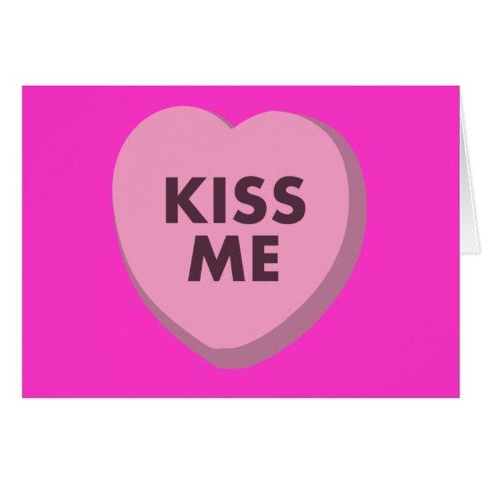 Kiss Me, Valentine's Day Card