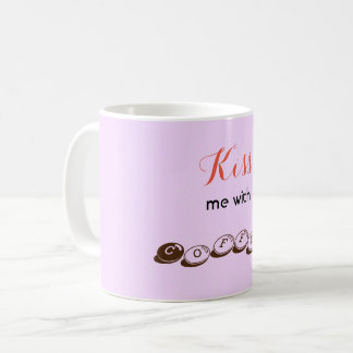 Kiss me with Coffee mug