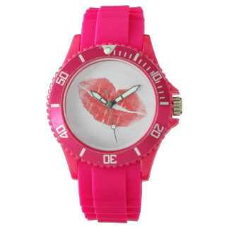 Kiss Me Wrist Watch