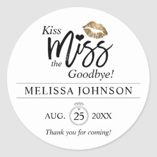 photo relating to Kiss the Miss Goodbye Printable referred to as Kiss This Bachelorette Goodbye Items upon Zazzle CA