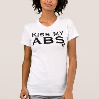 KISS MY ABS Women's Racerback T-Shirt