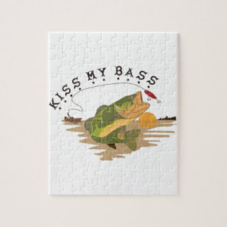 Kiss My Bass Jigsaw Puzzle