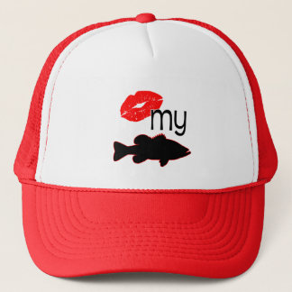 KISS MY BASS TRUCKER HAT