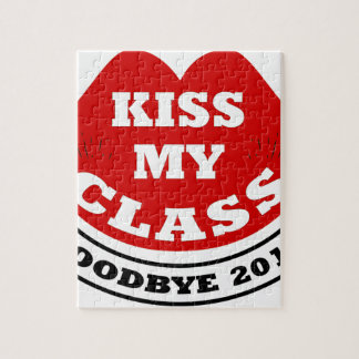 kiss my class 2018 jigsaw puzzle