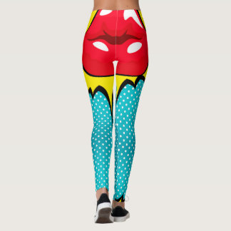 kiss my dots womens leggings