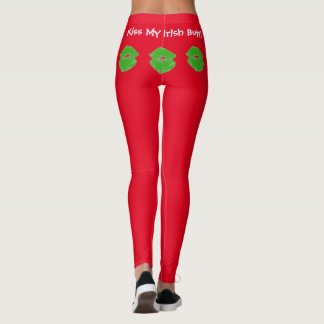 Kiss My Irish Butt! 4Maureen Leggings