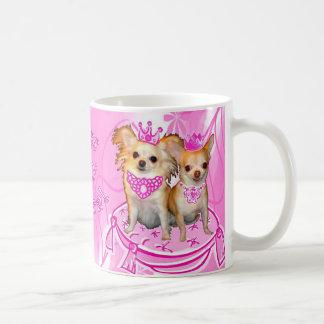Kiss My Tiara 2 Chihuahua Princesses Mug