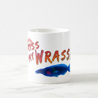 Kiss My Wrasse Fish #2 Classic White Coffee Mug