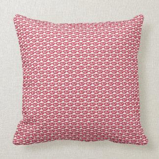 Kiss Pattern Throw Pillow