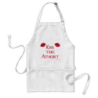 Kiss the Atheist Standard Apron