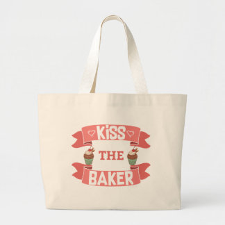 Kiss the Baker Jumbo Tote