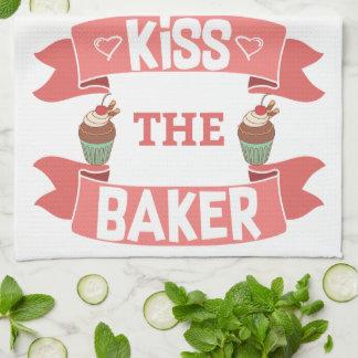 Kiss the Baker Kitchen Towel