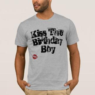 Kiss The Birthday Boy T-Shirt