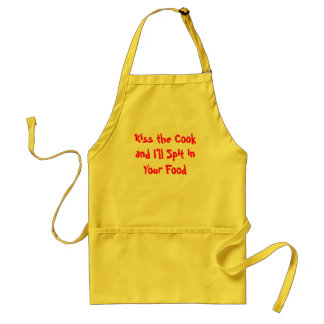 """Kiss the Cook"" Apron"