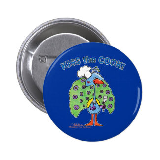 Kiss the Cook! Buttons