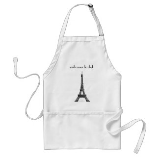 Kiss the Cook-Embrassez le Chef Standard Apron