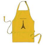 Kiss the Cook-Embrassez le Cuisinier Apron