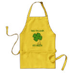 KISS THE COOK, I'M IRISH! ADULT APRON