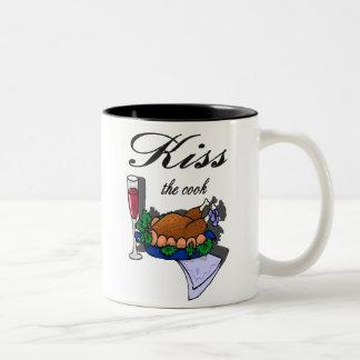 """""""Kiss the Cook"""" Mug"""