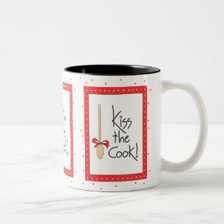 Kiss the Cook! mug