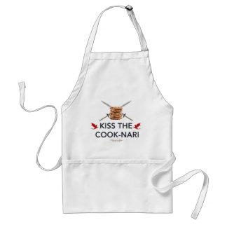 Kiss the Cook-Nari Standard Apron