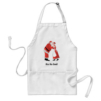 Kiss the Cook! Santa Claus Apron