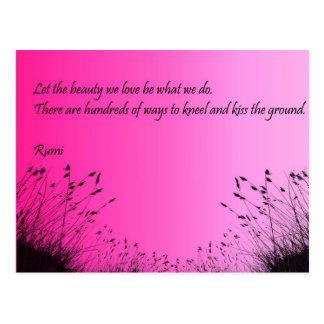 Kiss The Ground Postcard