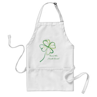 Kiss the Irish Cook! Standard Apron