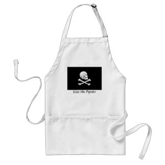 Kiss the Pyrate Apron- Henry Every Standard Apron