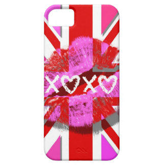 KISS THE UNION JACK - XOXO iPhone 5 CASE