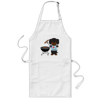 Kiss the Wienie Long Apron
