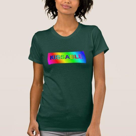 KISSABLE Fashion Shirt for Women-Rainbow Colours