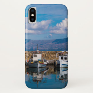 Kissamos Old Port iPhone X Case
