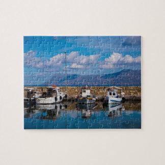 Kissamos Old Port Jigsaw Puzzle