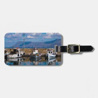 Kissamos Old Port Luggage Tag