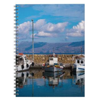 Kissamos Old Port Spiral Notebook