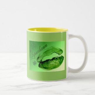 Kissed By A Leprechaun Coffee Mugs