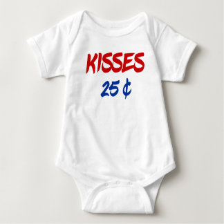 KISSES 25 CENTS BABY BODYSUIT
