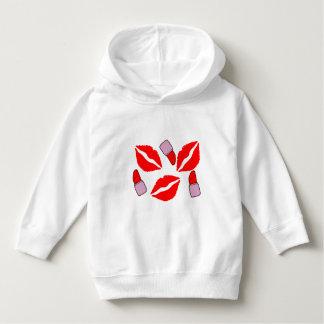kisses and lipsticks hoodie