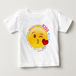 Kisses from all over the world baby T-Shirt