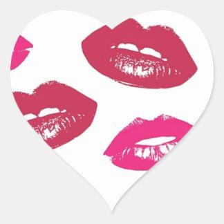 Kisses Heart Sticker
