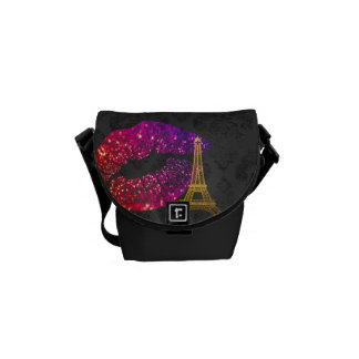 Kisses Messenger Bag