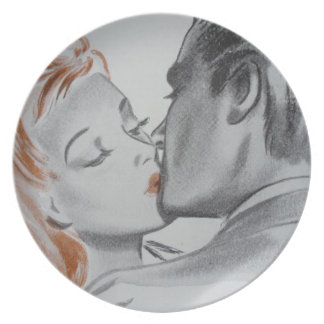 Kisses Party Plate