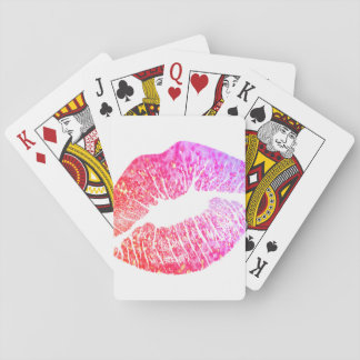 Kisses Playing Cards