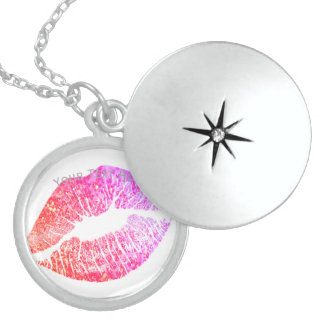 Kisses Sterling Silver Necklace