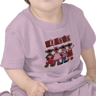 Kisses Valentine Bears T-shirts and Gifts