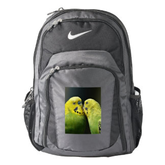 Kissing Budgie Backpack