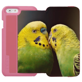 Kissing Budgie Parrot Incipio Watson™ iPhone 6 Wallet Case