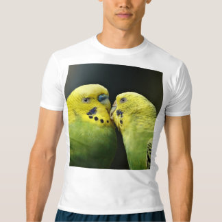 Kissing Budgie T-shirt