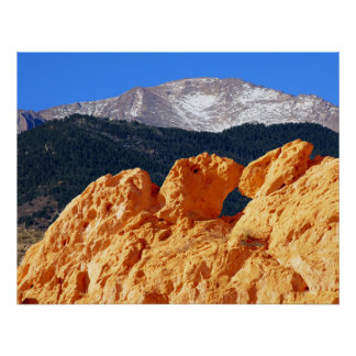Kissing Camels, Garden of the Gods Poster